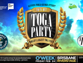 The World's Largest Toga Party Teaser