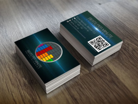 Beats Per Minute Entertainment Business Cards